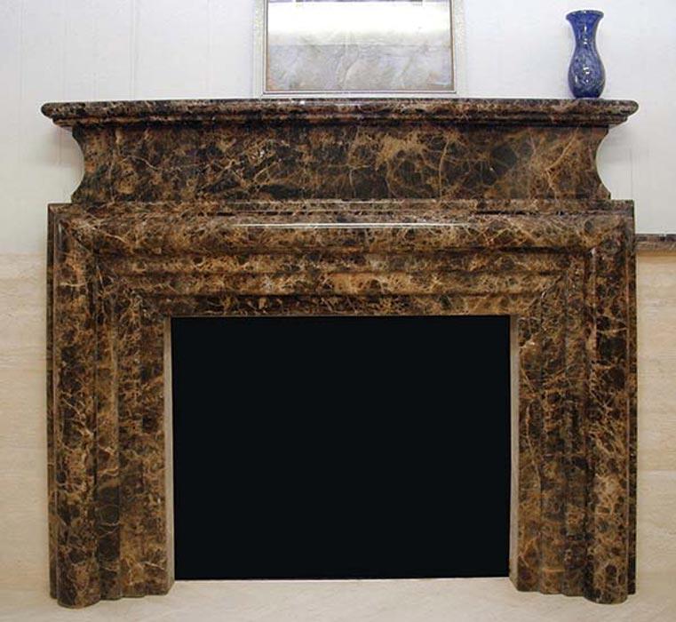 Fireplace Mantels Granite Surround