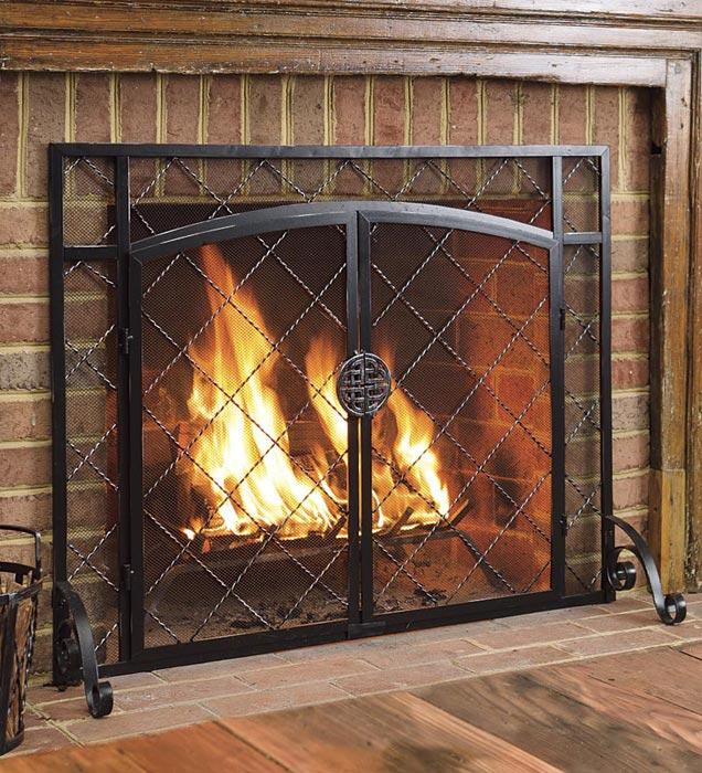 Fireplace Screens Home Depot Rocks