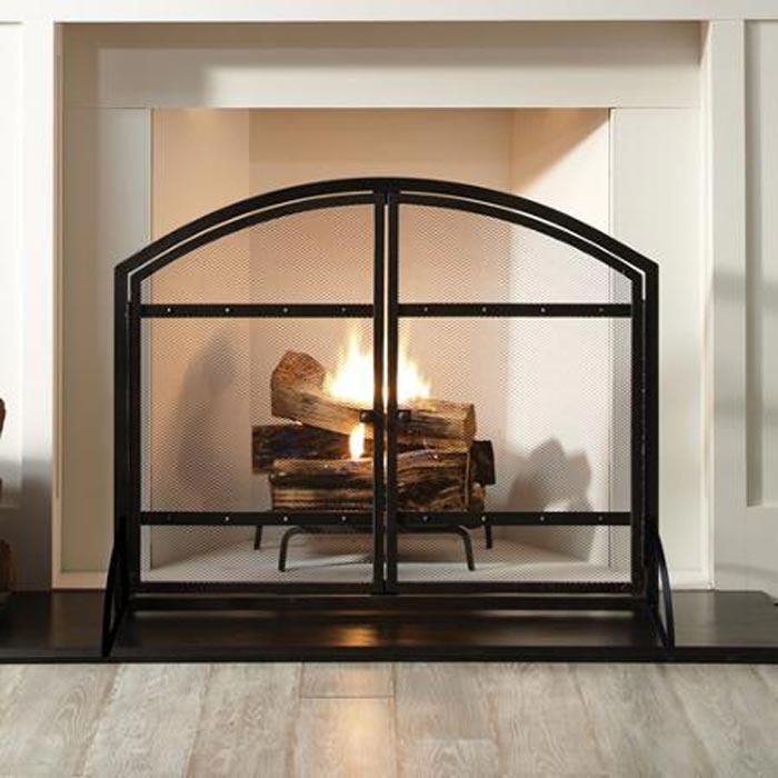 Fireplaces Screens Home Depot Usa