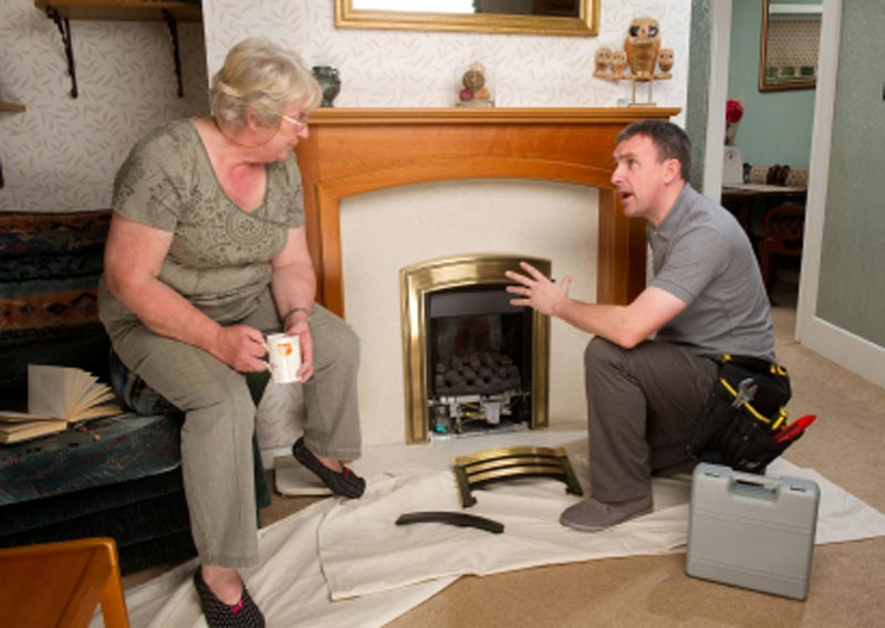 How To Install A Ventless Fireplace Insert