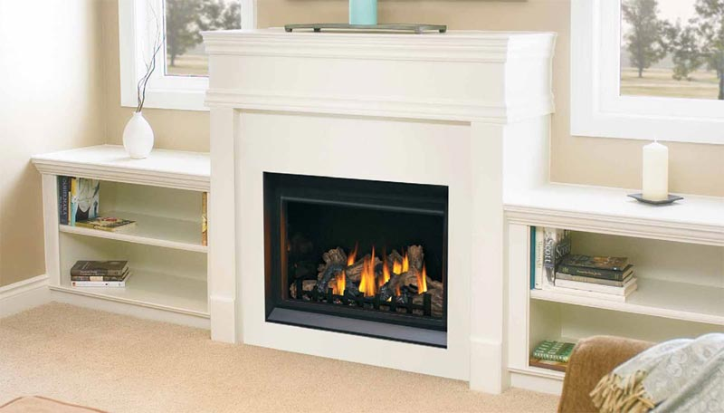 White Fireplace Mantels And Surrounds
