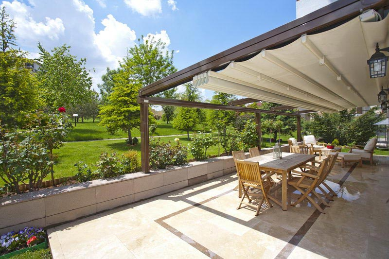 Retractable roof pergola sydney