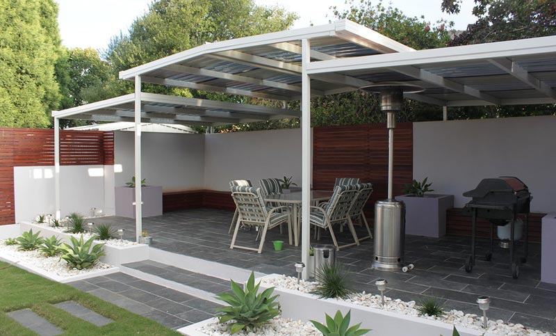 Steel pergolas vic