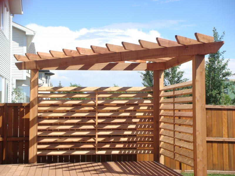 Triangle pergola kits