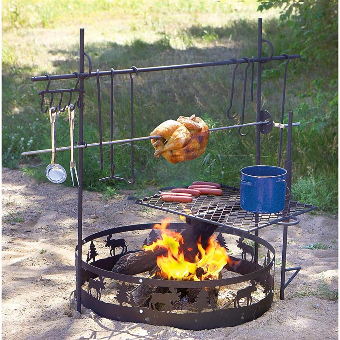 Fire Pit Cooking Accessories