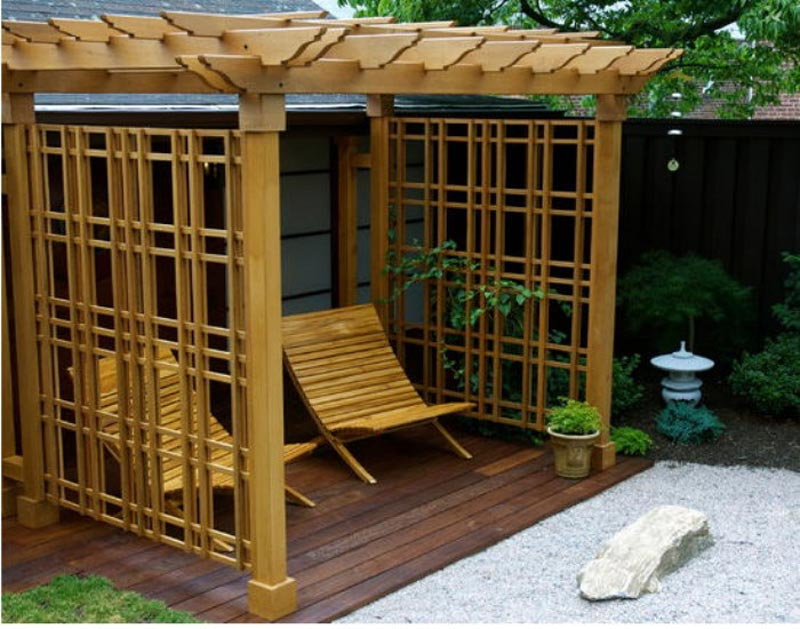 Different pergola styles