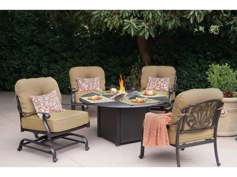 Fire pit table accessories
