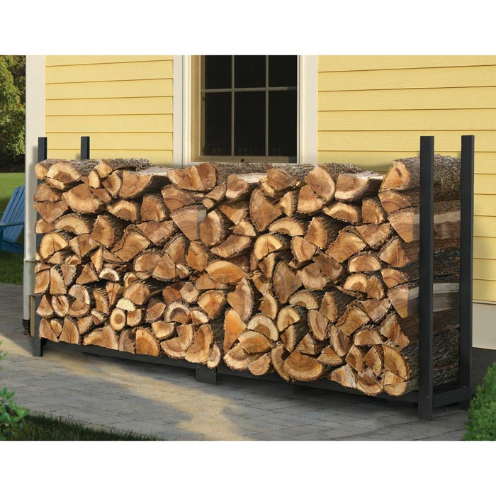Plans for firewood storage rack