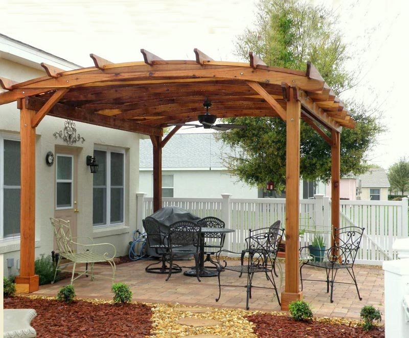 Prefab Pergola For Enriching Your Outdoor Space
