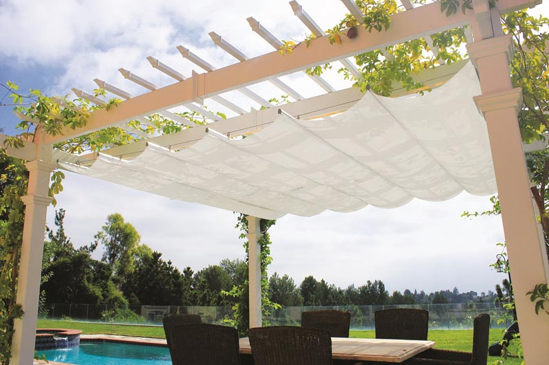 Retractable canopy for pergola canada
