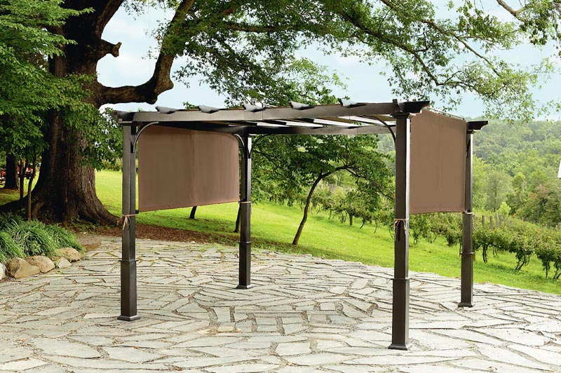 Grill Pergola: Create Barbecue Making Perfect Conditions