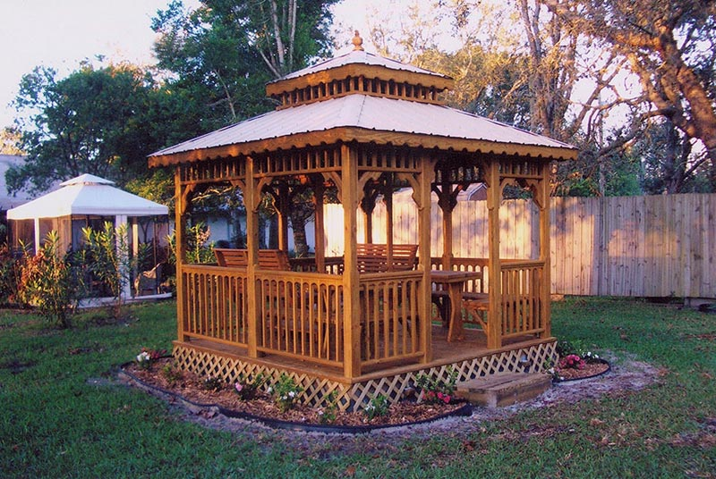 Square gazebo designs