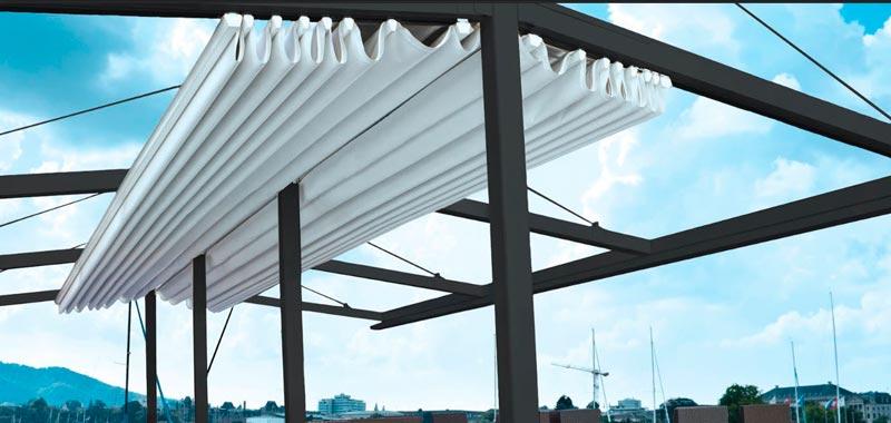 Aluminum pergola materials