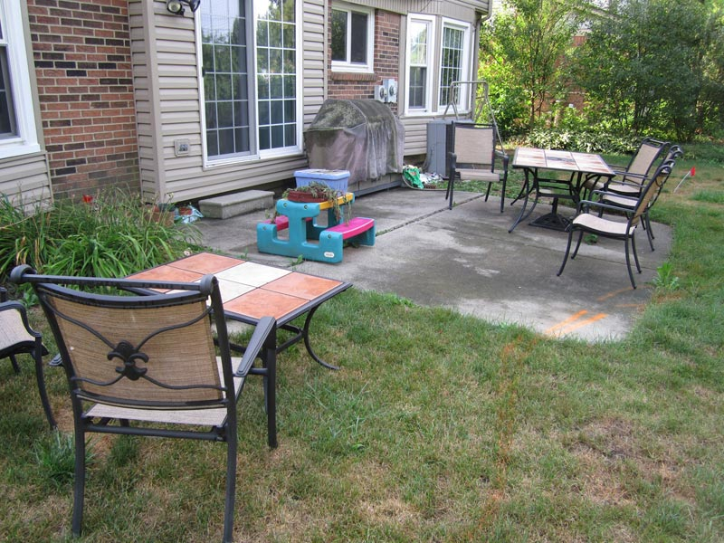 Cheap patio ideas for backyard