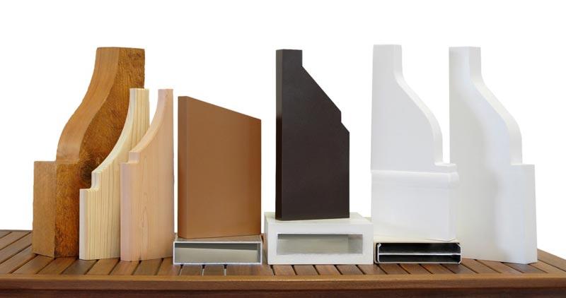 Composite pergola materials