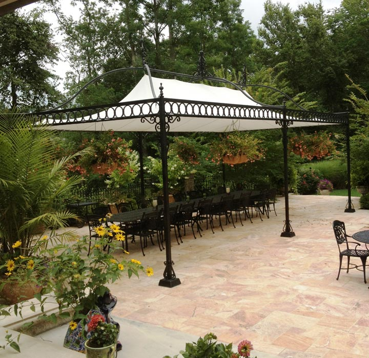 Custom gazebo covers