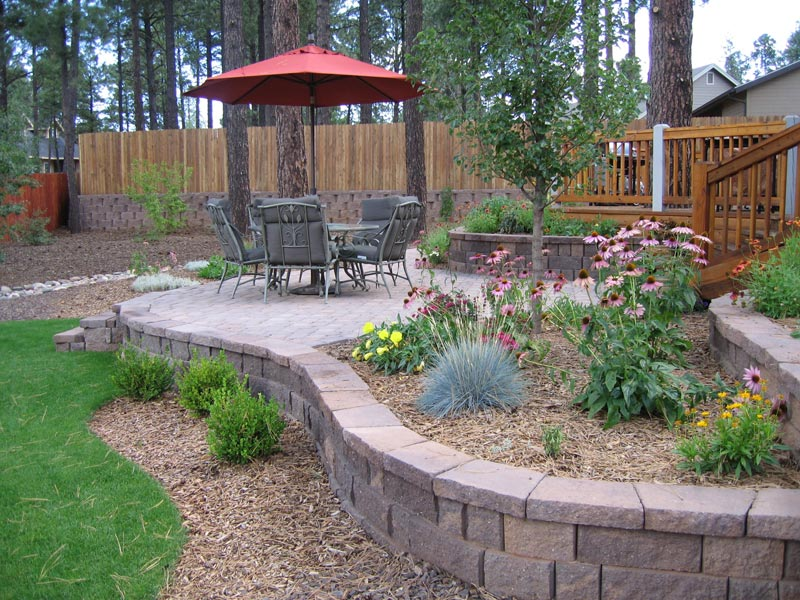 Landscaping patio ideas backyard