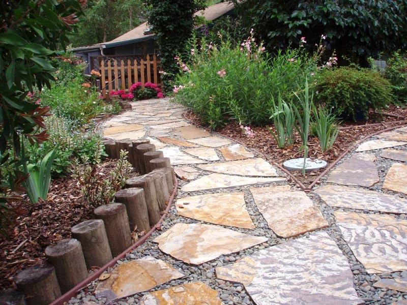 Patio landscape ideas for backyards