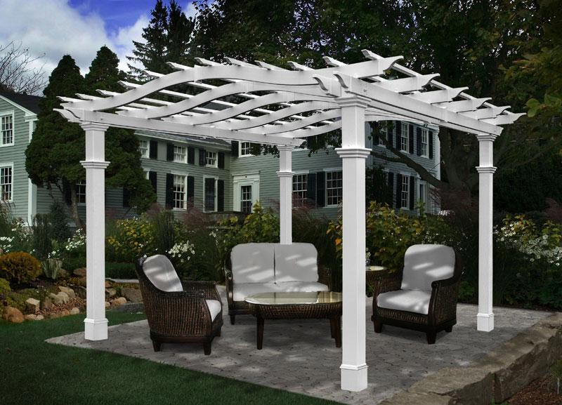 Pergola Vinyl: Striking Advantages