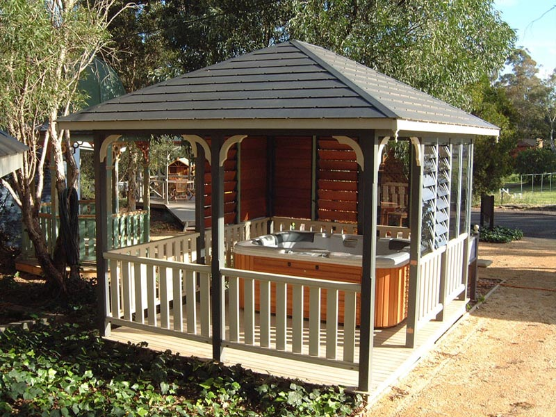 Spa gazebo brisbane