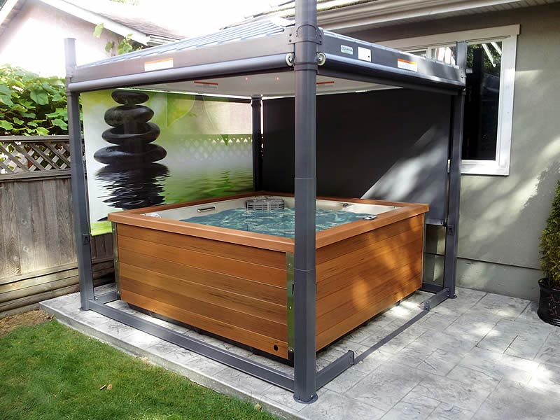 Spa gazebo covers