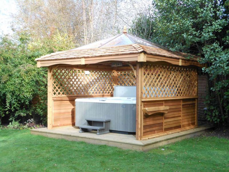 Spa gazebo kits
