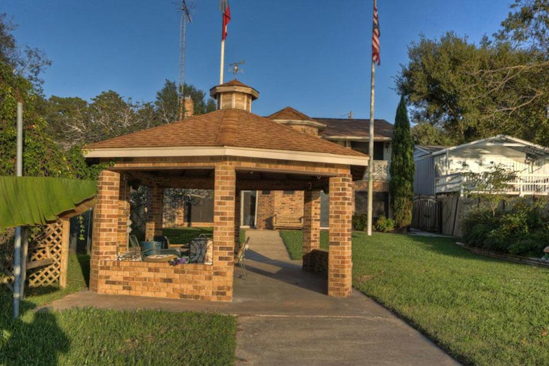 Brick gazebo pictures