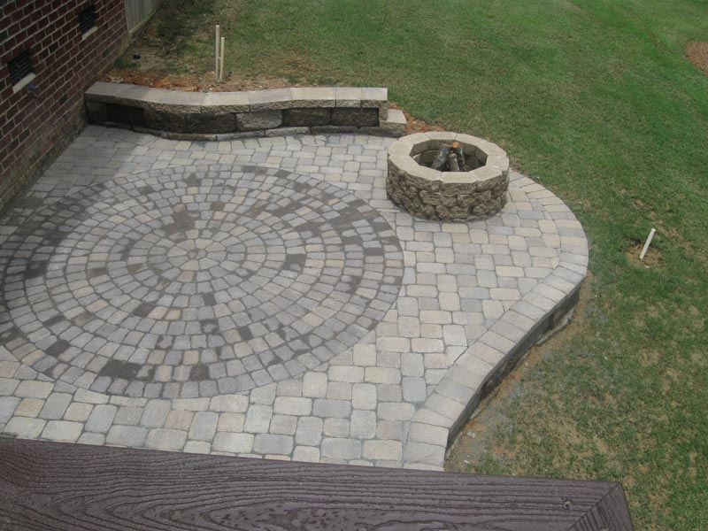 Circular patio designs pictures