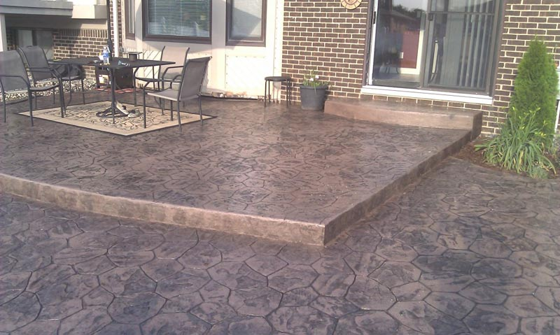 Concrete patio designs pictures