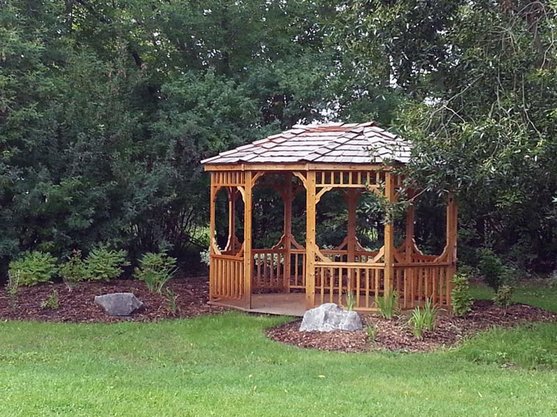 Gazebo red deer