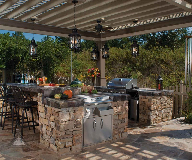Outdoor patio bbq ideas