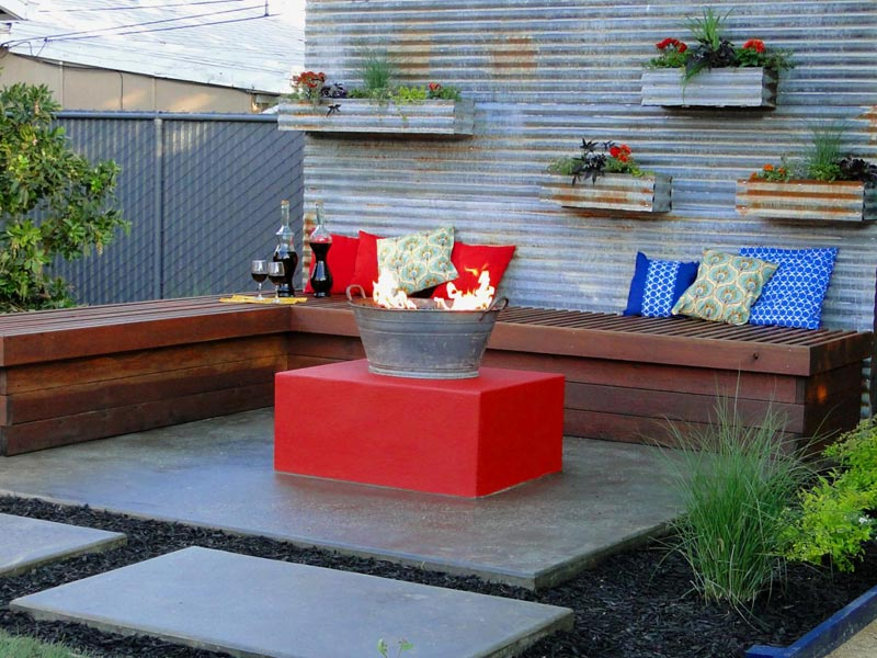 Diy fire pit patio ideas