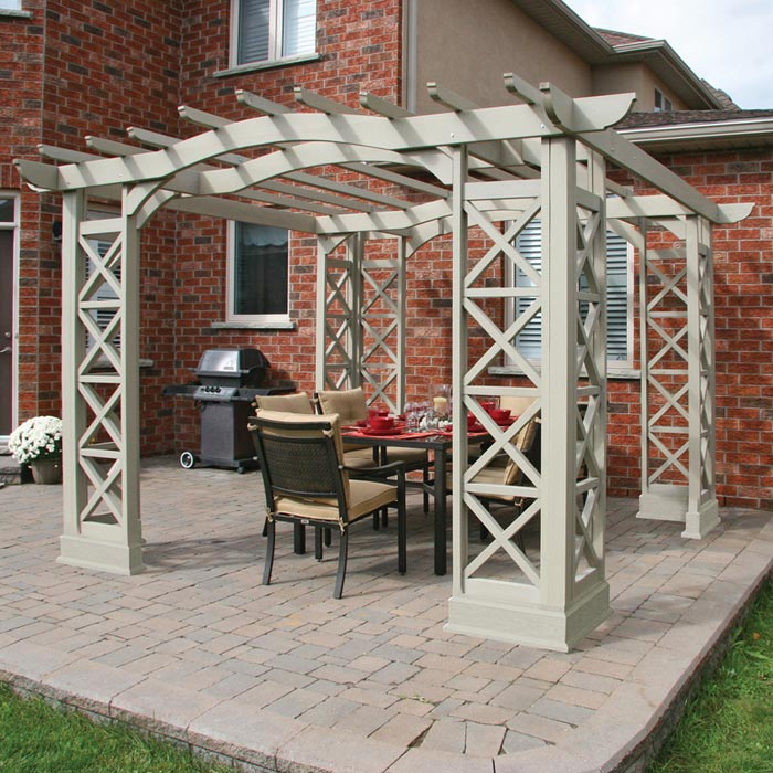 Garden treasures pergola accessories