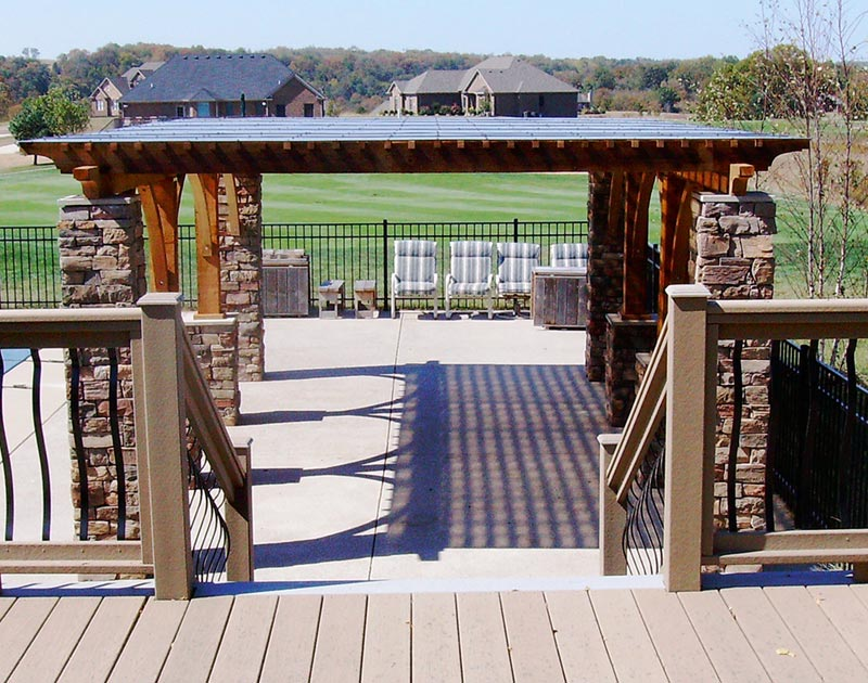 Hampton bay pergola accessories