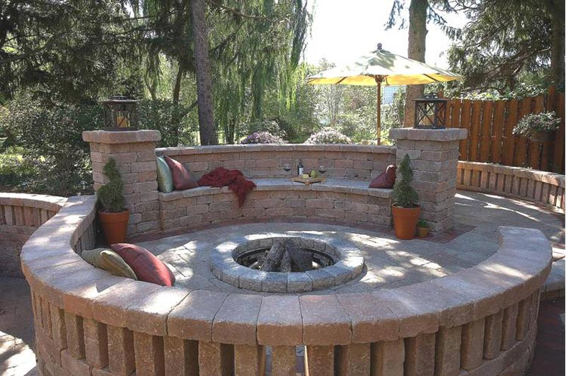 Patio design ideas with fire pits