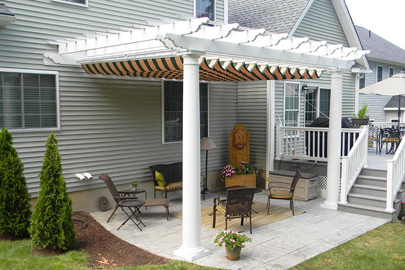 Pergola Awning For Better Outdoor Environment