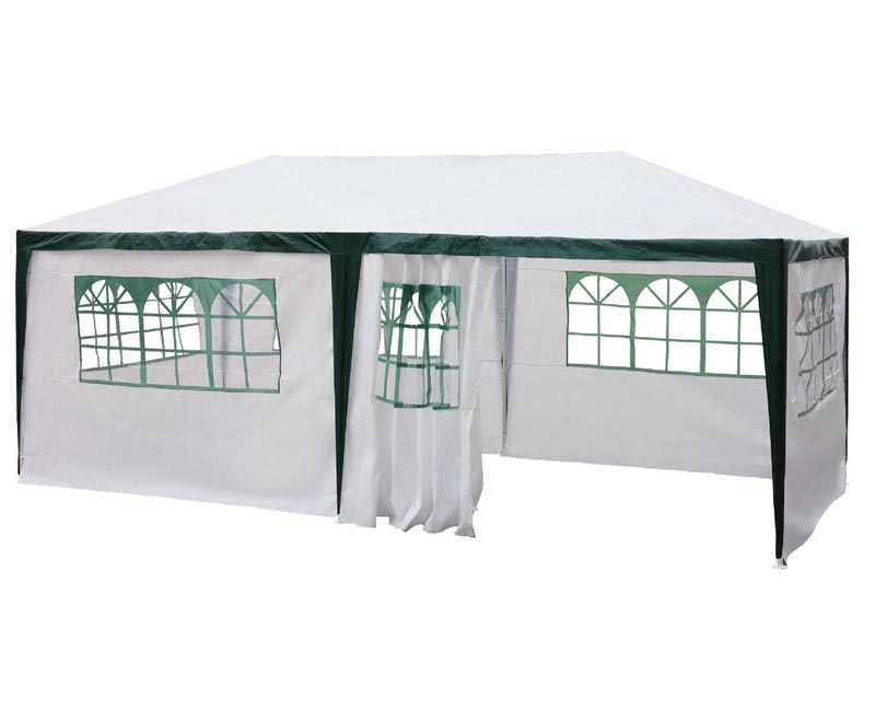 White gazebo argos