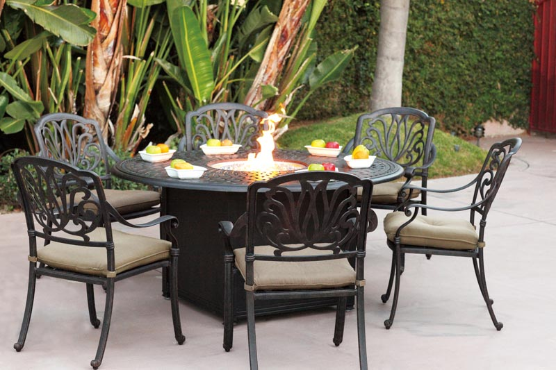 Propane Fire Pit Patio Sets