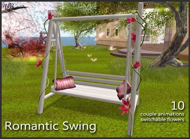 decorations flower gazebo swing secondlife pergola gardenfurniture