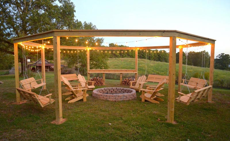 Buy hexagonal pergola