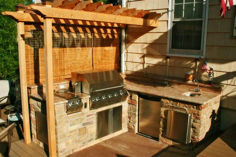 Diy outdoor bbq plans