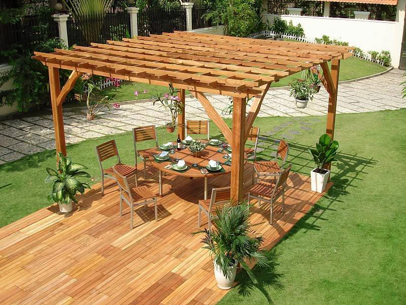 Do it yourself pergola