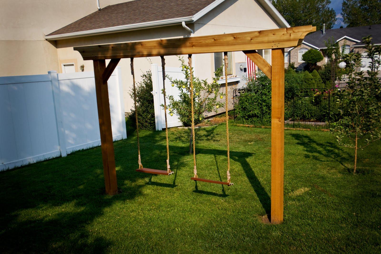 Pergola Swing Set