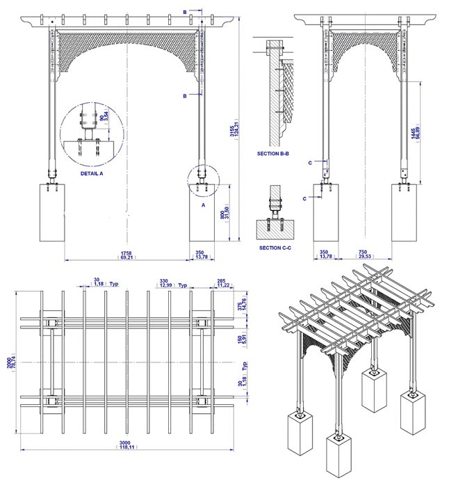 Free arbor plans do it yourself