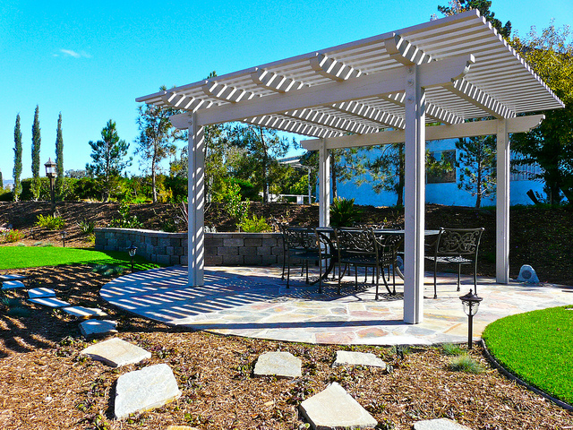 wood kitchen standing san outdoor free diego patio cover pergola alumiwood