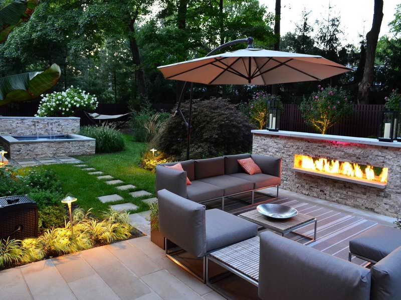 Garden patio ideas design