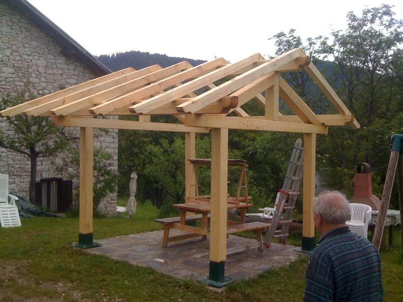 How to build a gazebo basic steps garden landscape for Simple gazebo plans
