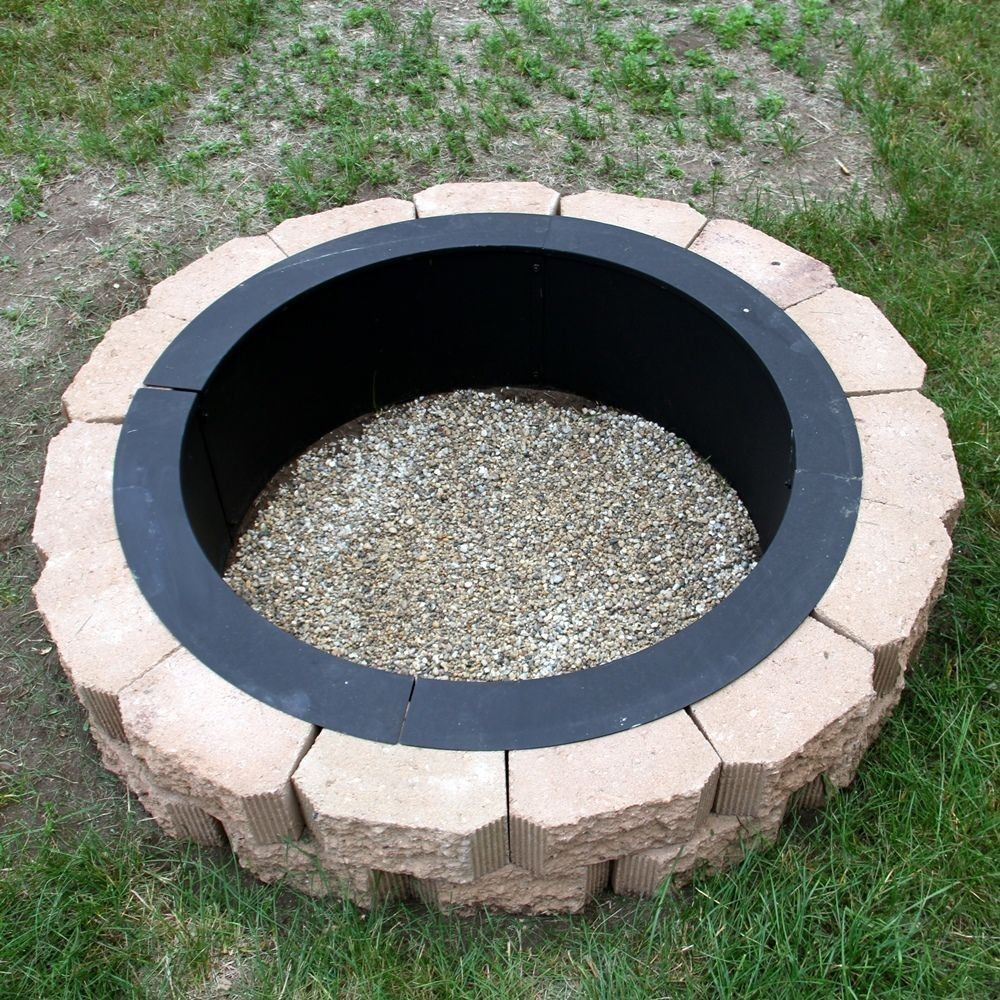 Construct Your Fire Pit Using Fire Pit Liners