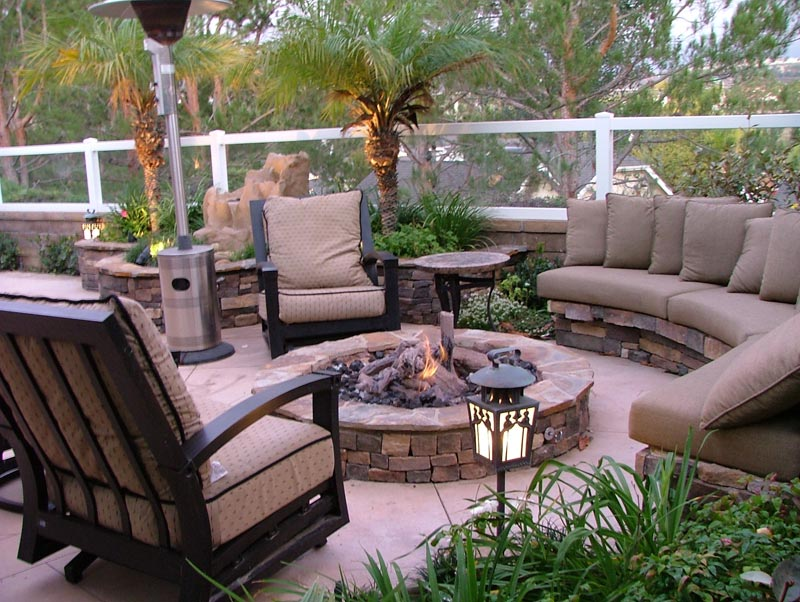 Outdoor patio garden ideas