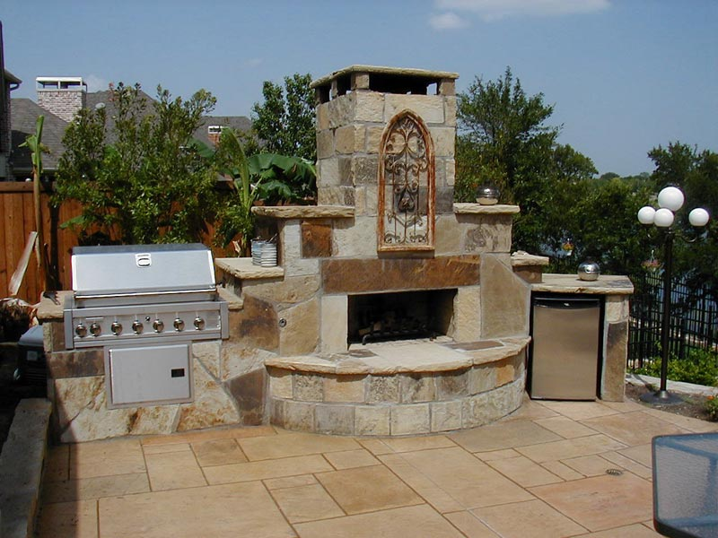 Outdoor BBQ Plans For Most Convenient And Practical OUtdoor Entertaining Zones